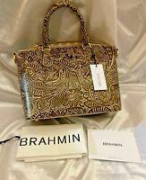 Brahmin Duxbury Satchel K43 99 00097 w/Dust Bag MSRP $275