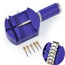 Wrist Bracelet Watch Band Link Strap Remover Adjuster & 5 Pins Repair Tool Set