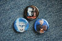 "Hellraiser Pinhead Movie Buttons Pins Badge 1"" pinback Horror figure scary Doll"