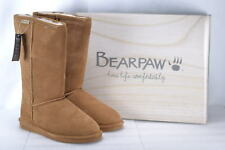 BEARPAW Emma Tall Women US 9 Brown Winter Boot Pre Owned Blemish 1506