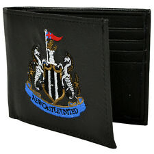 NEWCASTLE UNITED FC CREST EMBROIDERED PU LEATHER MONEY WALLET PURSE XMAS GIFT