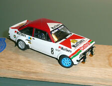 "UNIQUE 1/ 43 : FORD ESCORT RS1800 ""neige"" - VATANEN - RALLYE DE SUEDE 1978"