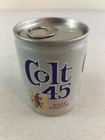 Colt 45 Malt Liquor 8 oz Aluminum Beer Can Bottom Opened Pull Tab