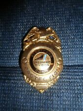 Obsolete 1980's Stratford CT Army Engine Plant AVCO Lycoming Fire Security Badge