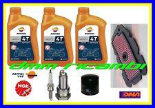 Kit Tagliando HONDA TRANSALP 700 12>13 Filtro Aria Olio REPSOL Candele 2012 2013