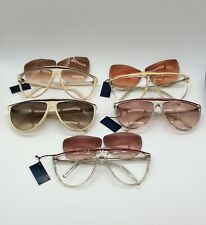 Vintage Gianni Versace for Ultra Lot of 5 Women's Sunglasses Frame Italy, As-Is