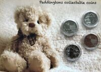 STARTER OF SET Paddington set of 4 mint uncirculated coins gift set.