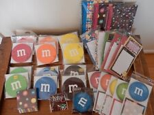 Lot of M&M notepads and card