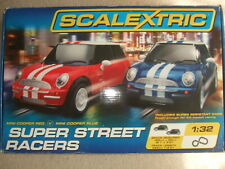 COMPLETE BOXED SUPER STREET RACERS SCALEXTRIC SET.