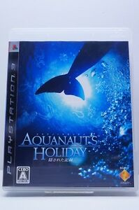 Used PS3 Aquanaut's Holiday Import Japan Game Sony PlayStation 3 Free Shipping