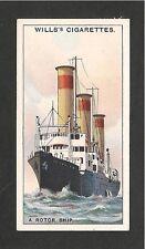 Rotor Schiff Barbara ausgestattet mit Flettner Rotoren 1931 Original Karte