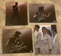 4 Cobra Kai Signed Photos Mariduena, Bertrand,  List,  & Kove - Karate Kid