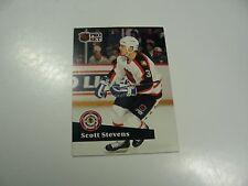 Scott Stevens 1991 NHL Pro Set (French) NHL All-Star card #292