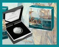 2019 $5 1oz Fine Silver Proof Coin Mutiny on the Bounty Norfolk Island ONLY 1500