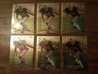 Lot of (6) Charles Woodson 1998 Topps Finest Rookie RC LOT #142 UNPEELED HOF