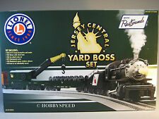 LIONEL JERSEY CENTRAL YARD BOSS STEAM LOCOMOTIVE SET njc o gauge train 6-81023