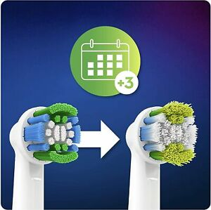 KIT 8 TESTINE CLEAN MAXIMISER SPAZZOLINI ELETTRICI ORAL-B PRECISION CLEAN