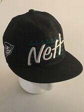 Black NEFF Headwear Snapback Hat Cap Snowboarder Surfer Surf Ski a04e4117df53