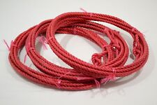 """Kid's Rope - 5/16"""" x 20' - Red - Pack of 3 (E374)"""