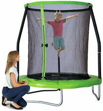 Chad Valley 6ft Trampoline with Folding Enclosure.
