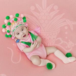 Newborn Photography Props Baby Clothing Hat Jumpsuit Romper Socks Photo Studio
