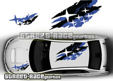 Subaru Impreza Rally Touring car 025 roof & bonnet decals stickers graphics