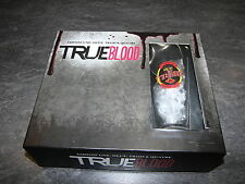 COFFRET DVD SERIE TV TRUE BLOOD SAISON 1 A 4 + VERRE COLLECTOR BOX HBO OCCASION
