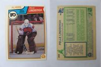 1983-84 OPC O-Pee-Chee #268 Lindberg Pelle  RC Rookie  flyers