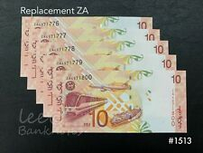 Malaysia - 11th RM10  Replacement ZA 5x Running   UNC