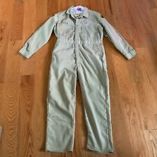 Vintage 1960s San Diego Sheriff Police Work Coveralls Tan Lee Union-Alls Size 42