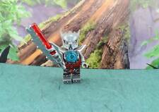 Lego Mini Figure Legends of Chima Wakz with 2-Sided Head from 70009