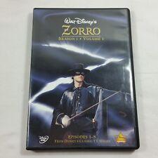 Walt Disneys Zorro Season 1 Volume 1 1st 8 Episodes Approx 24 Mins Each