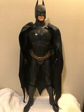 "2005 BATMAN BEGINS DARK KNIGHT ACTION FIGURE 31"" DOLL Complete"
