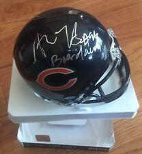 PERRELL McPHEE AKIEM HICKS  Signed Auto Riddell Chicago Bears Mini Helmet