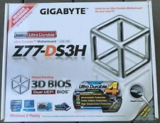 Gigabyte GA-Z77-DS3H, LGA 1155, (Only 2 working memory slots, SEE DESCRIPTION)