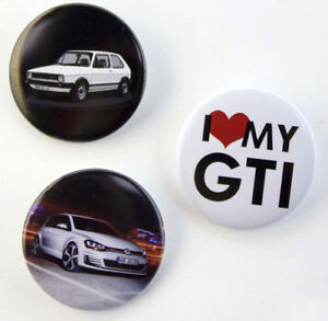 Volkswagen GTI Pin Set of 3  VW Genuine accessories
