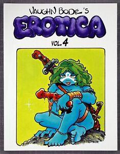 VAUGHN BODE's EROTICA Volume 4, All-Color Quality Book of 1973-75 Cavalier, 1997