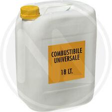 18 litri COMBUSTIBILE UNIVERSALE LIQUIDO PER STUFE , ALTA QUALITA' - 26328