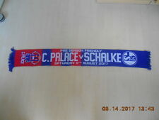 Fanschal Crystal Palace FC-FC Schalke 04 05.08.2017 Pre-Season Friendly ansehen