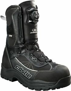Castle X Charge Boa Mens Snowmobile Boots Black/Gray Size 10