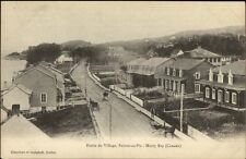 Partie Du Village Pointe Au Pic Murray Bay Quebec c1910 Postcard