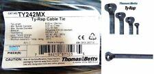 Thomas & Betts TY242MX Ty-Rap Cable Tie Self-Locking Ties 204mm Black Polymide