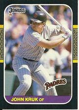 1987 Donruss John Kruk 328 Padres