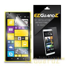 6X EZguardz Clear Screen Protector Shield 6X For Nokia Lumia 1520