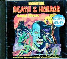 ESSENTIAL DEATH & HORROR SOUND EFFECTS V 1 HALLOWEEN FX FROM BBC LIBRARY 1977 CD