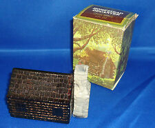 Collectible Vintage Avon Homestead Decanter - Wild Country (empty) in Box