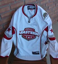 ERIC STAAL signed 07 East All-Star Reebok Jersey Plus McDonald's UD Jersey Card