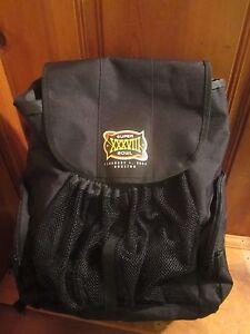 Reebok 2004 NFL Super Bowl XXVIII Logo New England Patriots Black Backpack NEW