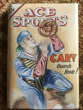 NY Yankees Gary Sanchez Original Art Pulp Cover Recreation Vintage Baseball Book
