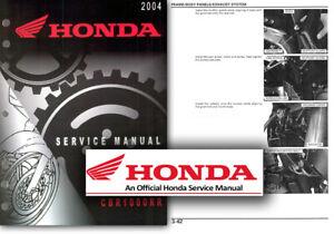 Honda CBR1000RR FIREBLADE Service Workshop Repair Manual CBR1000 2006 2007 SHOP